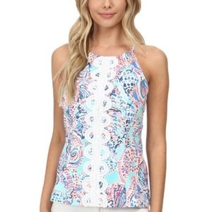 Lilly Pulitzer | Annabelle Tank Shell Me About It
